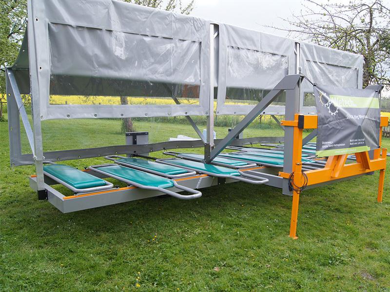 Jäteflieger & Ernteflieger für 3 bis 12 Personen ohne Antriebsmodul