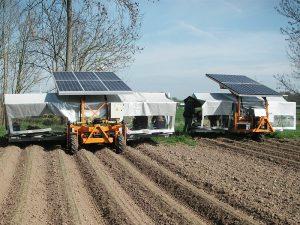 Jäte- & Ernteflieger solarbetrieben für 3 bis 12 Personen