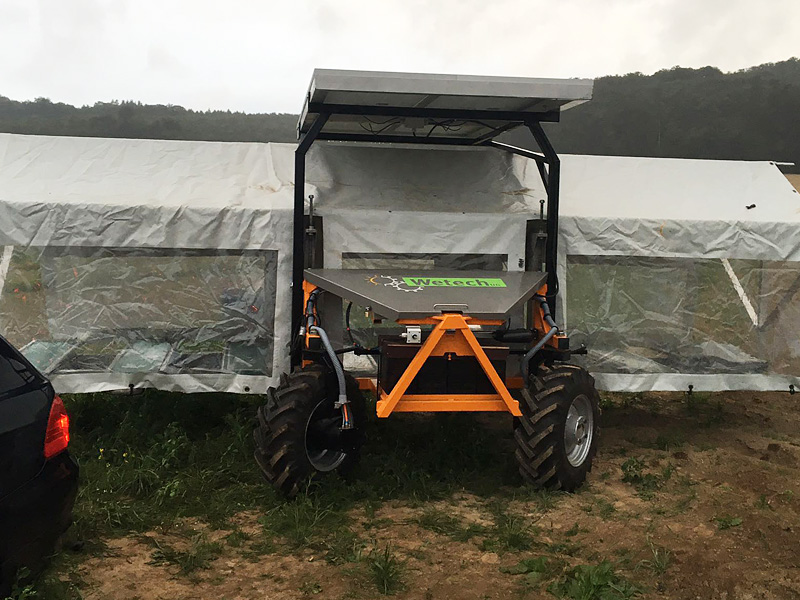 Jäteflieger & Ernteflieger für den ökologischen Landbau