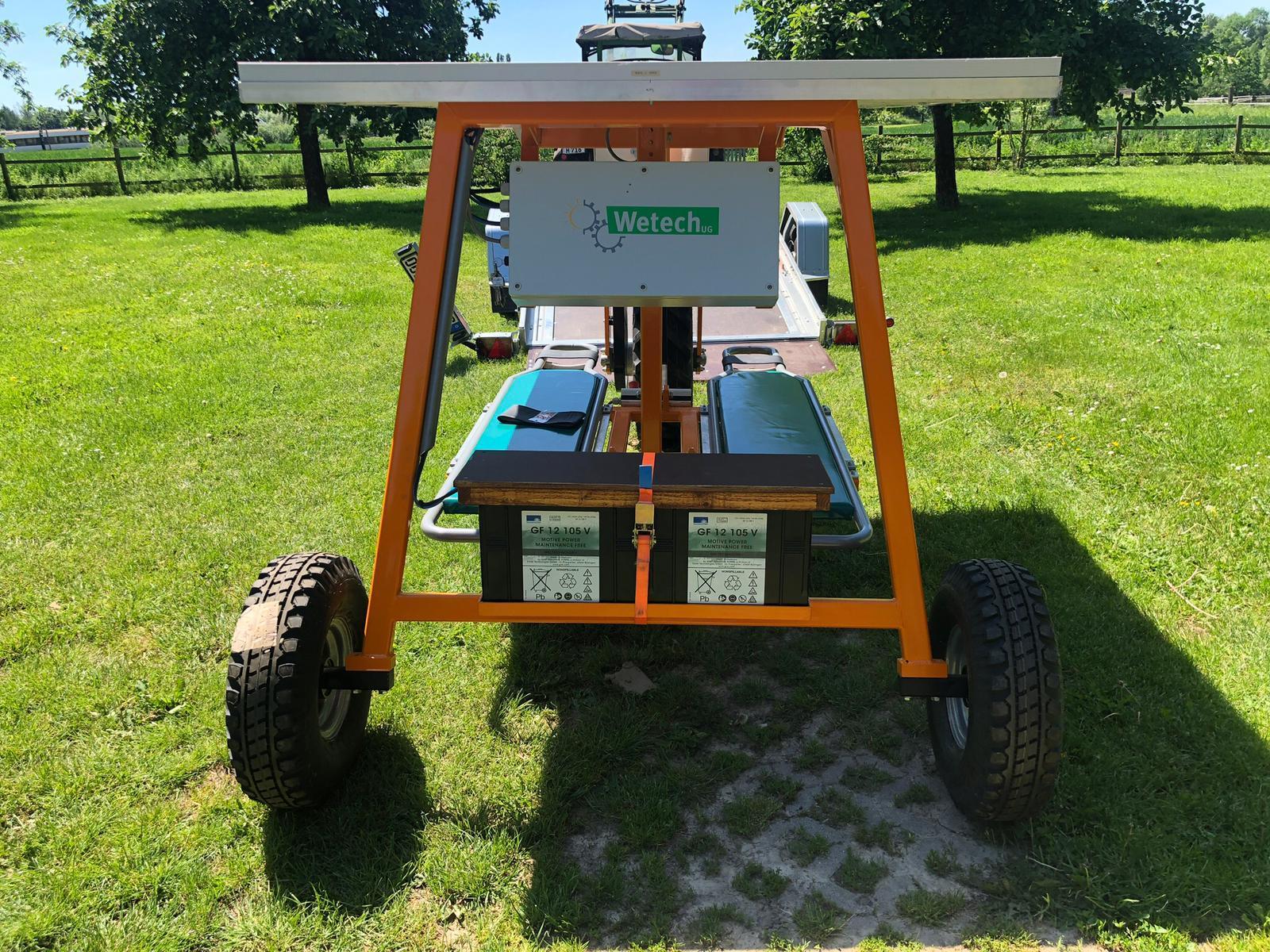 Jäteflieger & Ernteflieger – Solarbetrieben für 1 oder 2 Personen